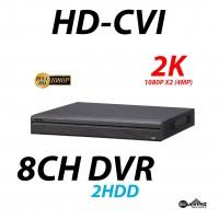 8 Channel HD-CVI DVR 2K