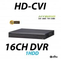 16 Channel HD-CVI Mini DVR Hybrid