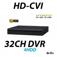 32 Channel HD-CVI DVR Hybrid