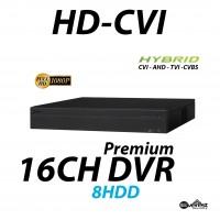16 Channel HD-CVI DVR Pro Edition Hybrid