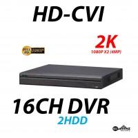 16 Channel HD-CVI DVR 2K