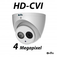 4 Megapixel HD-CVI Turret Dome IR 3.6mm