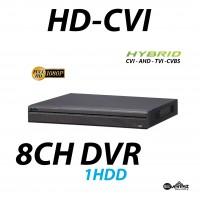 8 Channel HD-CVI Mini DVR Hybrid