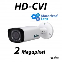 2 Megapixel HD-CVI Bullet IR Motorized 2.8-12mm