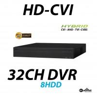 32 Channel HD-CVI DVR Pro Edition Hybrid