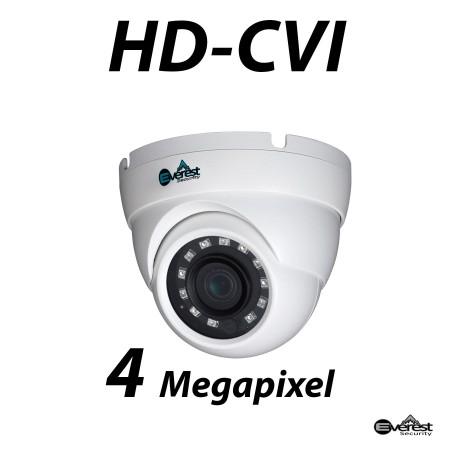 4 Megapixel HD-CVI Small Dome IR 3.6mm