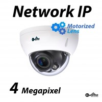 4 Megapixel Dome IR IP Camera Motorized 2.7-12mm