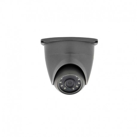 5MP TVI 4-in-1 2.8mm Small Dome Camera with built-in junction box