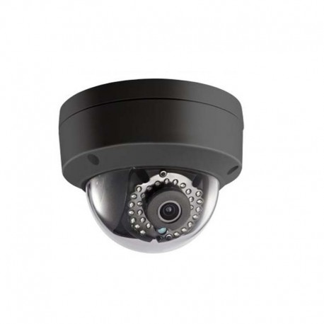 4MP WDR Network 4mm Black Full Dome Camera