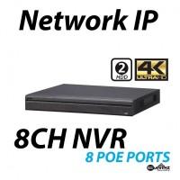8 Channel NVR 4K 8 POE Lite
