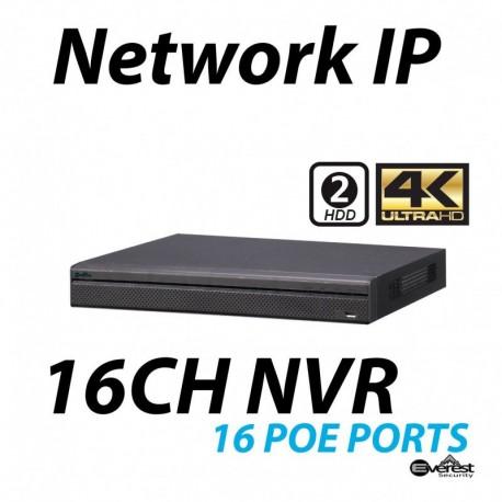 16 Channel NVR 4K 16 POE Lite
