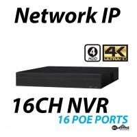 16 Channel NVR 4K 16 POE
