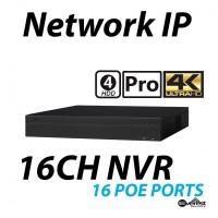 16 Channel NVR 4K 16 E-PoE Pro 4HDD
