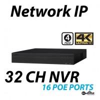 32 Channel NVR 4K 16 POE Lite