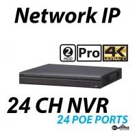 24 Channel NVR 4K 24 POE Pro