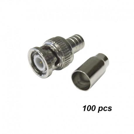 BNC Crimp-on connectors