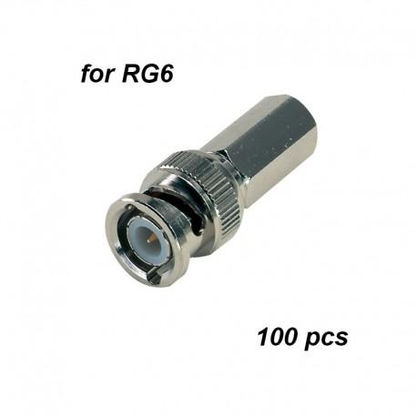 BNC Twist-on connectors for RG6