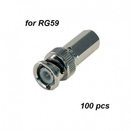 BNC Twist-on connectors for RG59