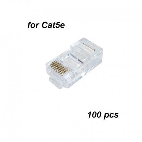 RJ45 Cat5e connectors