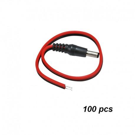 Male Power Plug Pigtail
