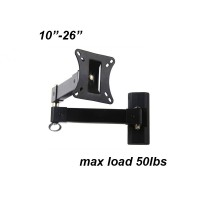 "LCD Wall Mount 10-26"" (two arms)"