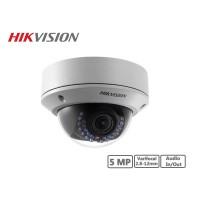 Hikvision 5MP Vandal-proof Varifocal 2.8-12mm Network Dome Camera