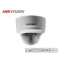 Hikvision 2MP Varifocal 2.8-12mm Network Dome Camera H265+
