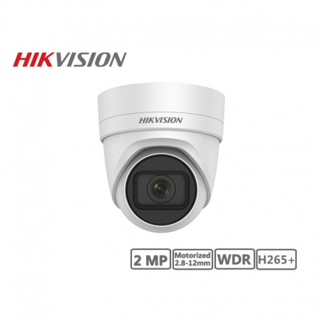 Hikvision 2MP Motorized 2.8-12mm Network Turret Camera H265+