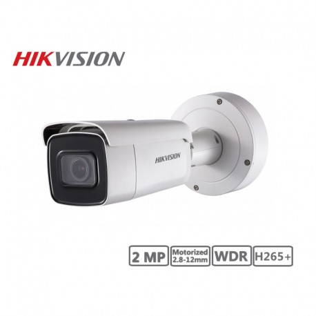 Hikvision 2MP Motorized 2.8-12mm Network Bullet Camera H265+