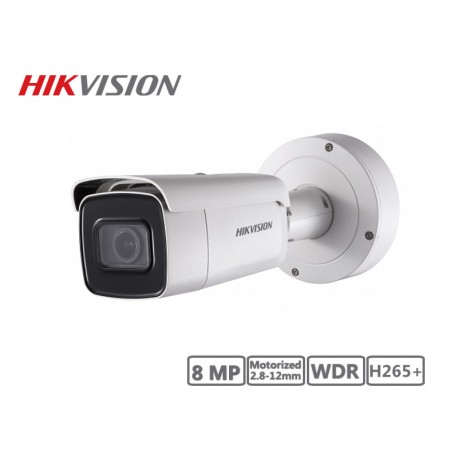 Hikvision 8MP Motorized 2.8-12mm Network Bullet Camera H265+