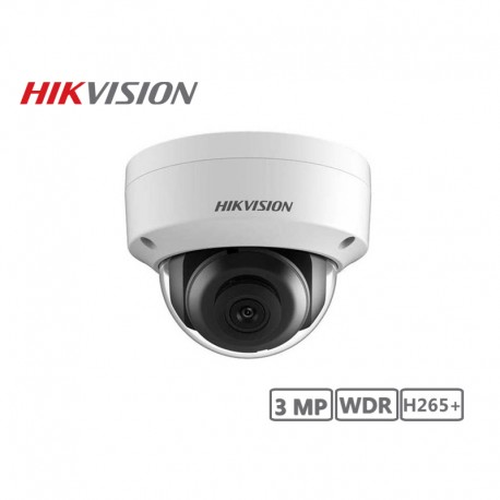 Hikvision 3MP WDR Network Full Dome Camera H265+