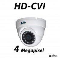 4 Megapixel HD-CVI DWDR Small Dome IR 2.8mm