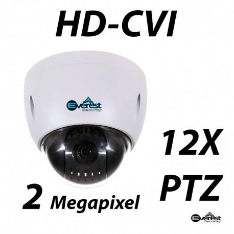 2 Megapixel 12X HD-CVI PTZ