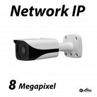 8 Megapixel Bullet IR IP Camera 2.8mm