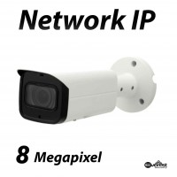 8 Megapixel Bullet IR IP Camera Motorized 3.7-11mm