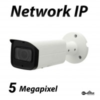 5 Megapixel Bullet IR IP Camera Motorized 2.7-13.5mm