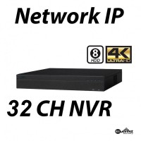 32 Channel 2U 4K H.265 Pro Network Video Recorder 8HDD