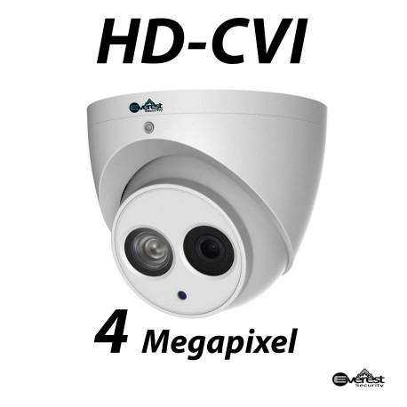 4 Megapixel HD-CVI Turret Dome IR 3.6mm