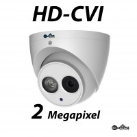 2 Megapixel HD-CVI Turret IR 3.6mm Built in Mic