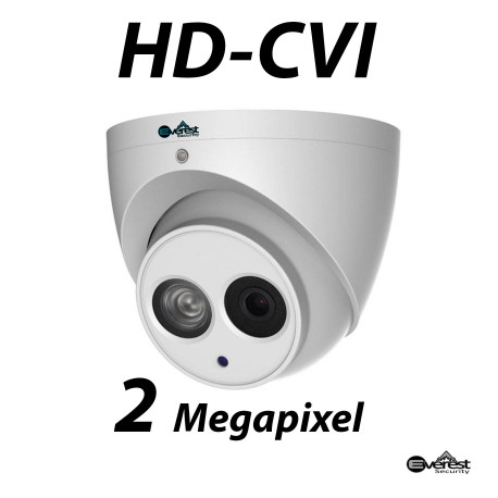 2 Megapixel HD-CVI Turret Dome IR 3.6mm