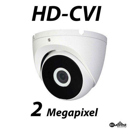 2 Megapixel HD-CVI Dome IR 2.8mm