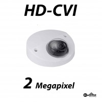 2 Megapixel HD-CVI Mini Dome IR 3.6mm with Audio