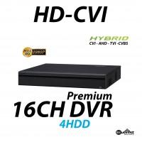 16 Channel HD-CVI DVR Premium Edition Hybrid