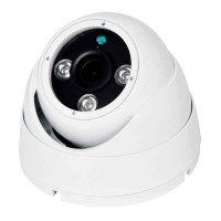 4 IN 1 - 2.4MP  Small Dome Camera 3.6mm White