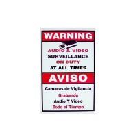 CCTV Warning Sign  - Medium