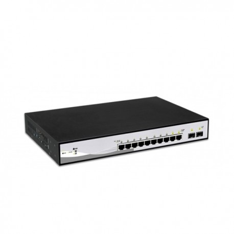 18 ports switch with 16 PoE ports with 2 Giga Uplink Ports