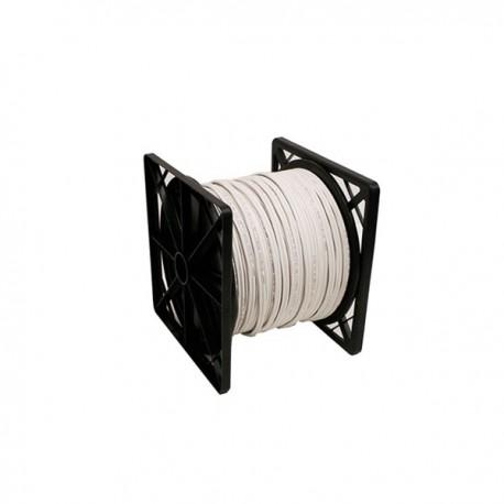 RG59U Siamese Cable 500ft (White)