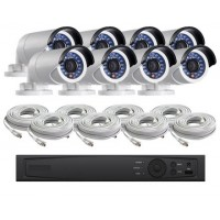 8 Channel HD-TVI 1080p Bullet KIT