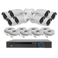 8 Channel HD-CVI KIT - Dome