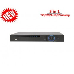 8 Channel XVR 1080P Lite Penta-brid 1U Digital Video Recorder - 5 In 1